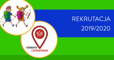 REKRUTACJA 2019/2020 – materiały informacyjne MEN