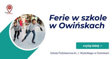 Ferie w szkole w Owińskach