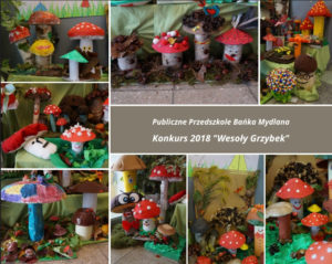 konkurs 2018 wesoly grzybek
