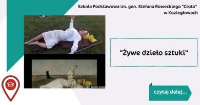 """""""Żywe dzieło sztuki"""""""
